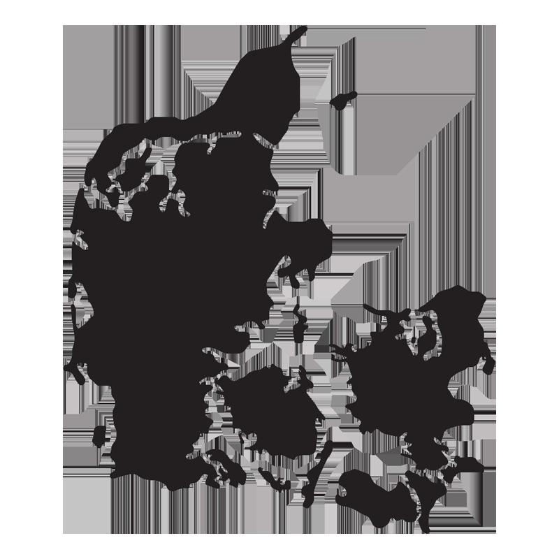 Danmarkskort ,   Åbne haver ,  klik på kort